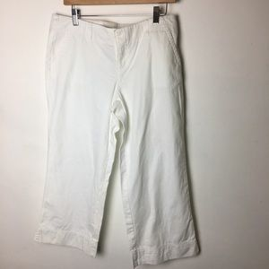 SZ 10 Lilly Pulitzer Palm Beach Fit White Pant